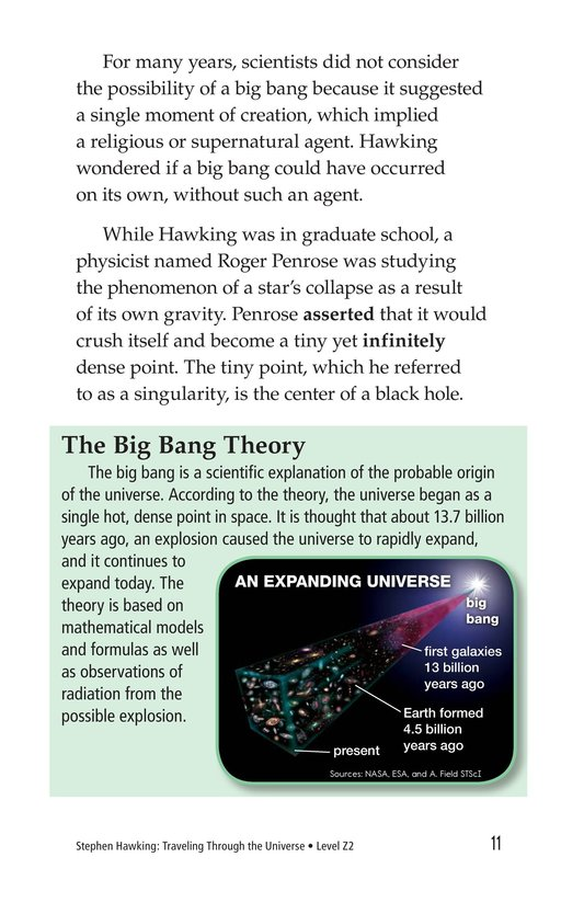 Book Preview For Stephen Hawking: Traveling Through the Universe Page 11
