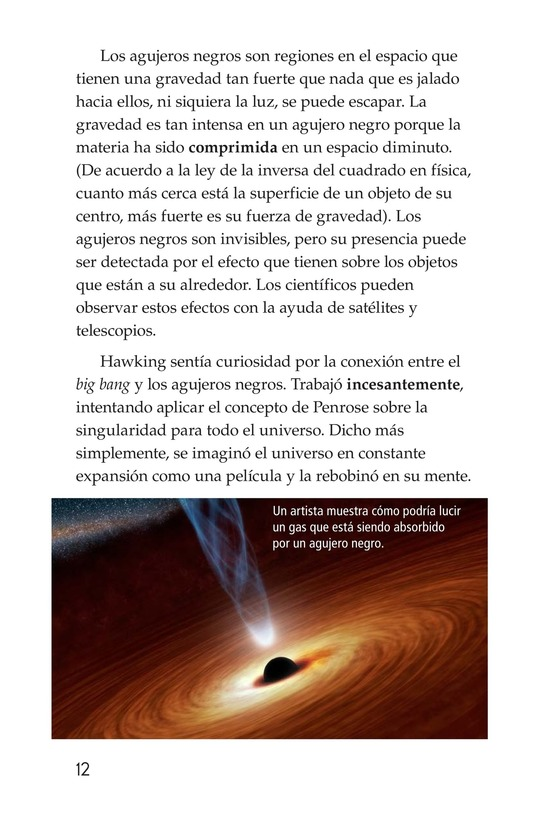 Book Preview For Stephen Hawking: Traveling Through the Universe Page 12