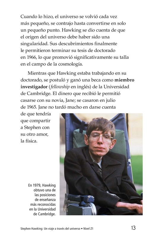 Book Preview For Stephen Hawking: Traveling Through the Universe Page 13