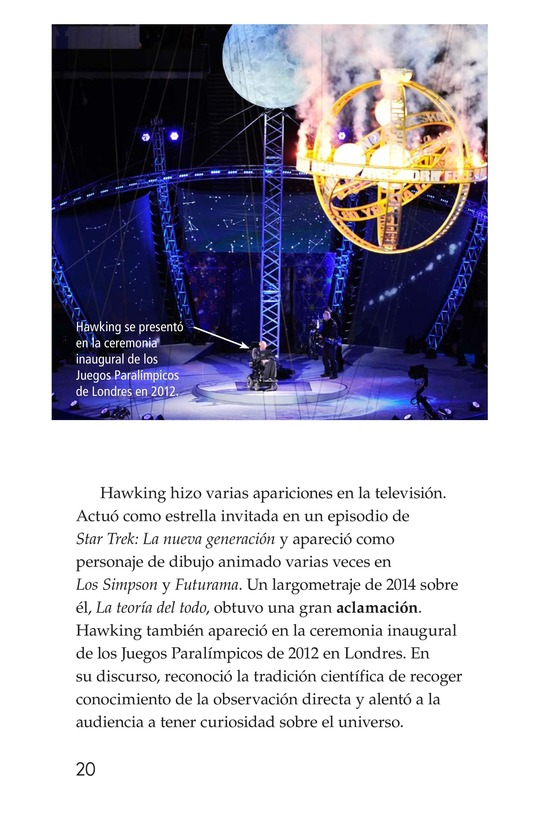 Book Preview For Stephen Hawking: Traveling Through the Universe Page 20