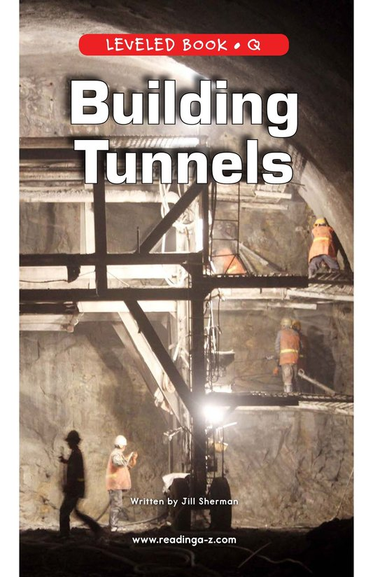 Book Preview For Building Tunnels Page 0