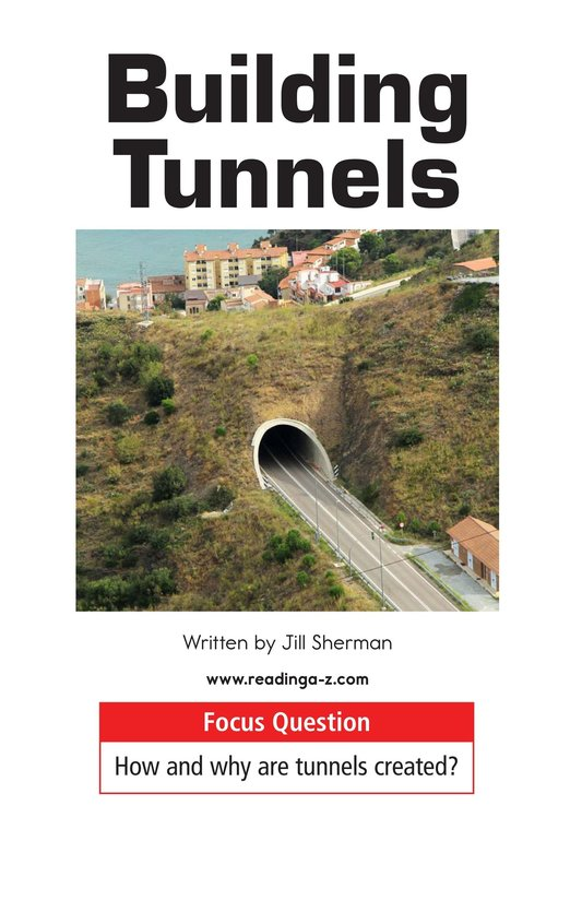 Book Preview For Building Tunnels Page 1