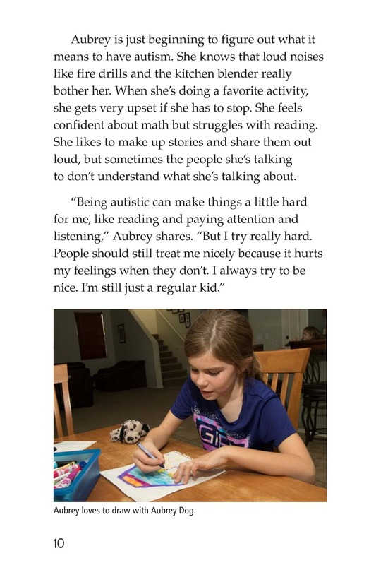 Book Preview For Many Faces of Autism Page 10