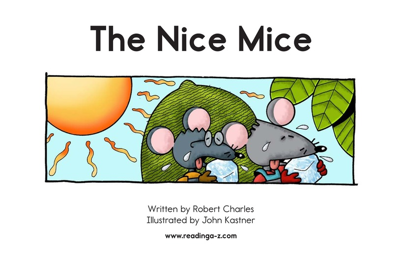 Book Preview For The Nice Mice Page 2