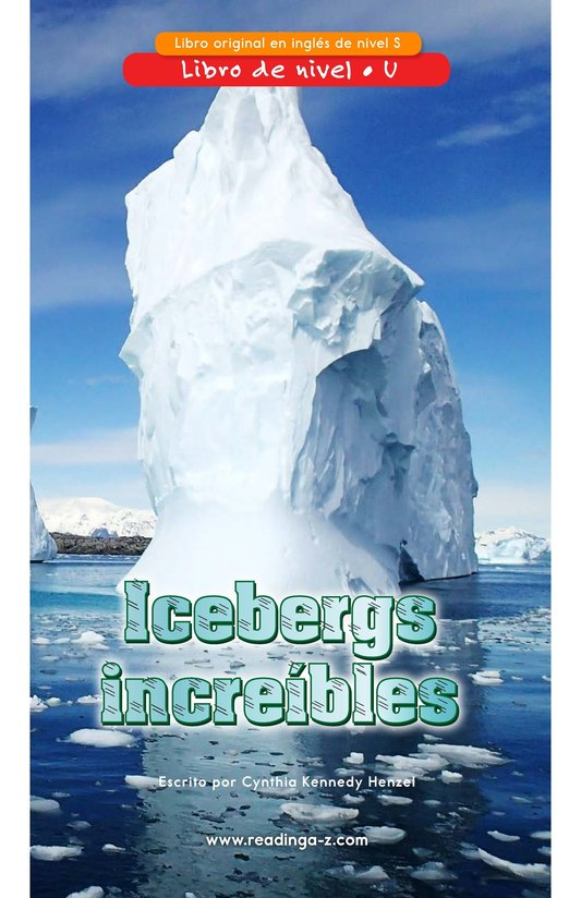 Book Preview For Incredible Icebergs Page 0