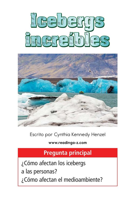 Book Preview For Incredible Icebergs Page 1