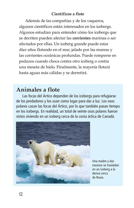 Book Preview For Incredible Icebergs Page 12