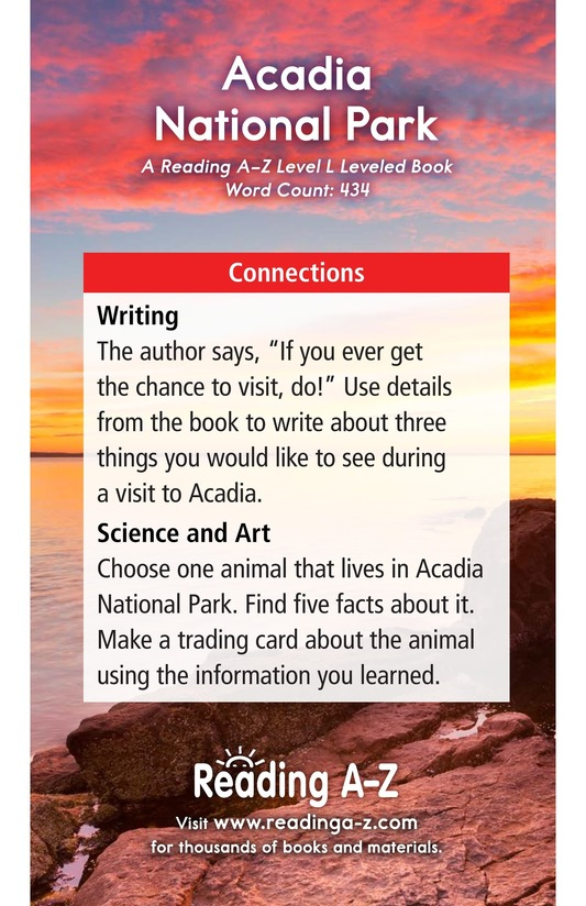 Book Preview For Acadia National Park Page 17