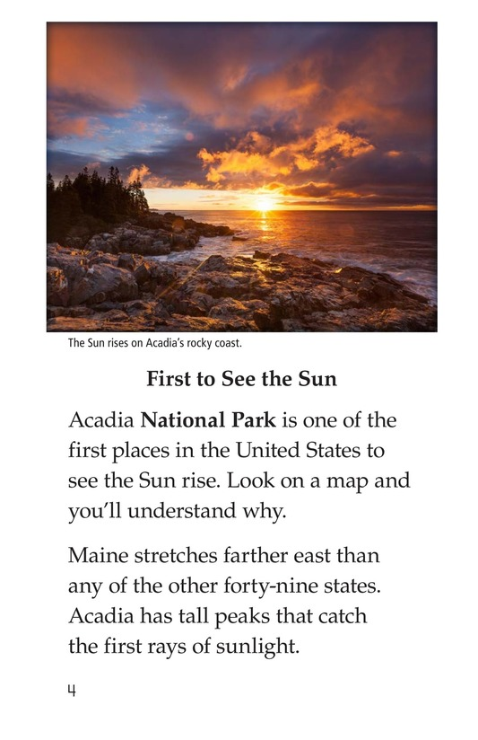 Book Preview For Acadia National Park Page 4