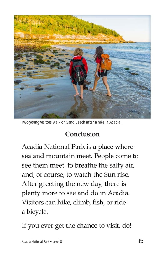 Book Preview For Acadia National Park Page 15