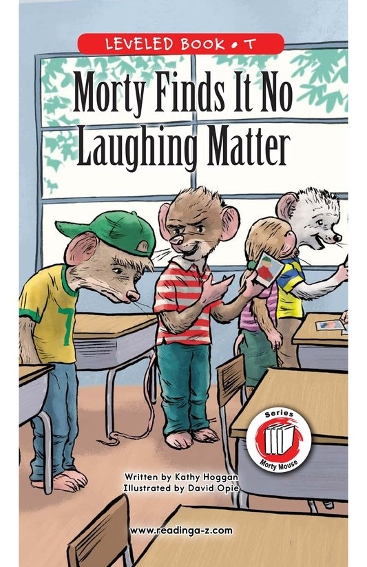 Book Preview For Morty Finds It No Laughing Matter Page 0