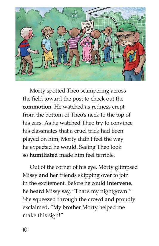 Book Preview For Morty Finds It No Laughing Matter Page 10