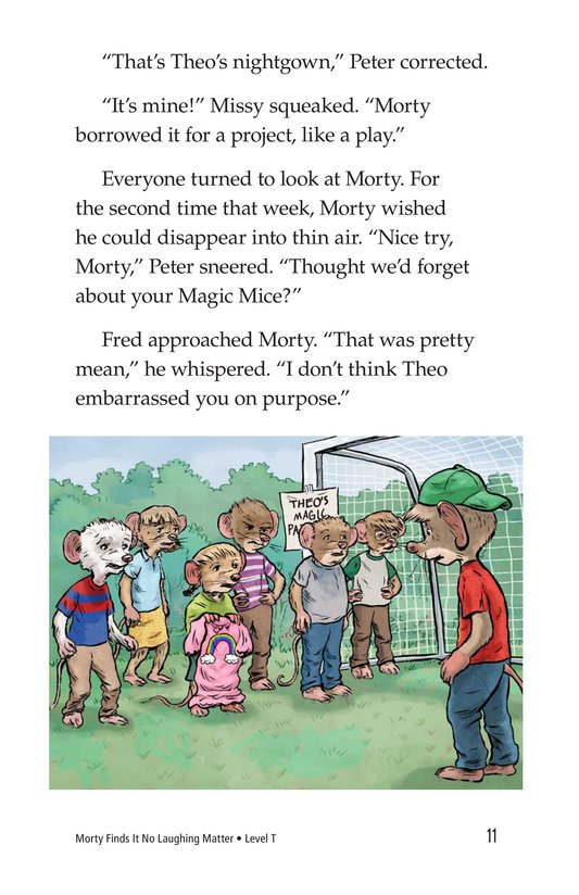 Book Preview For Morty Finds It No Laughing Matter Page 11
