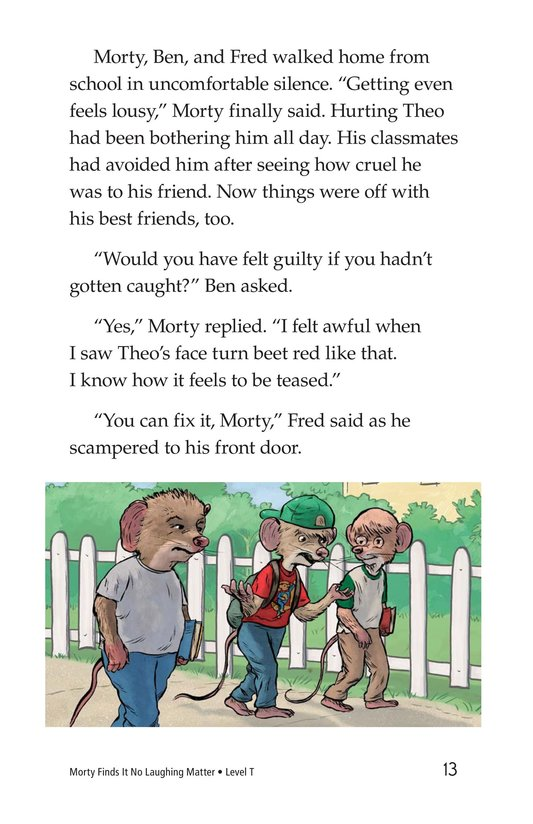 Book Preview For Morty Finds It No Laughing Matter Page 13