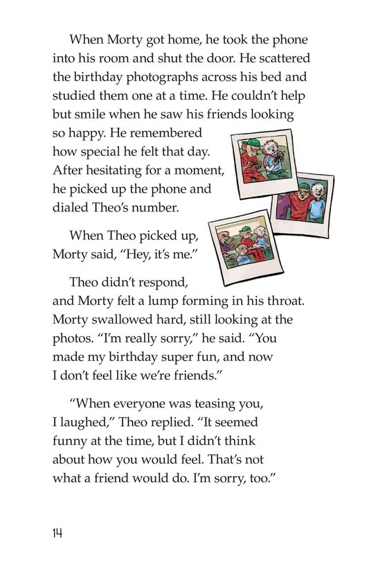 Book Preview For Morty Finds It No Laughing Matter Page 14