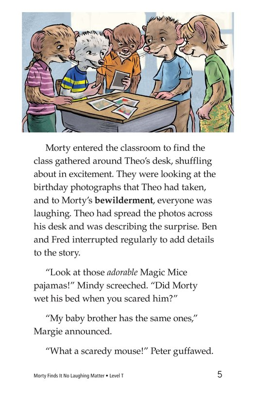 Book Preview For Morty Finds It No Laughing Matter Page 5