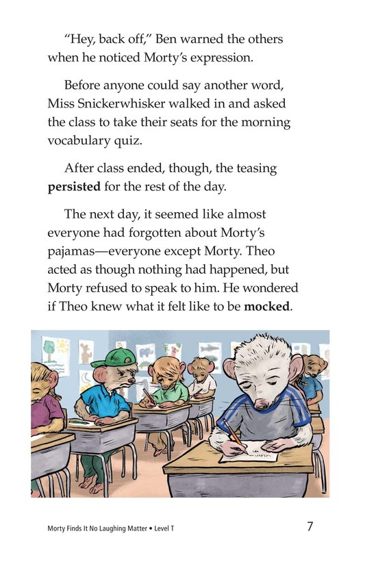 Book Preview For Morty Finds It No Laughing Matter Page 7