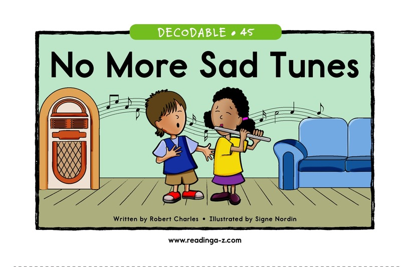 Book Preview For No More Sad Tunes Page 1