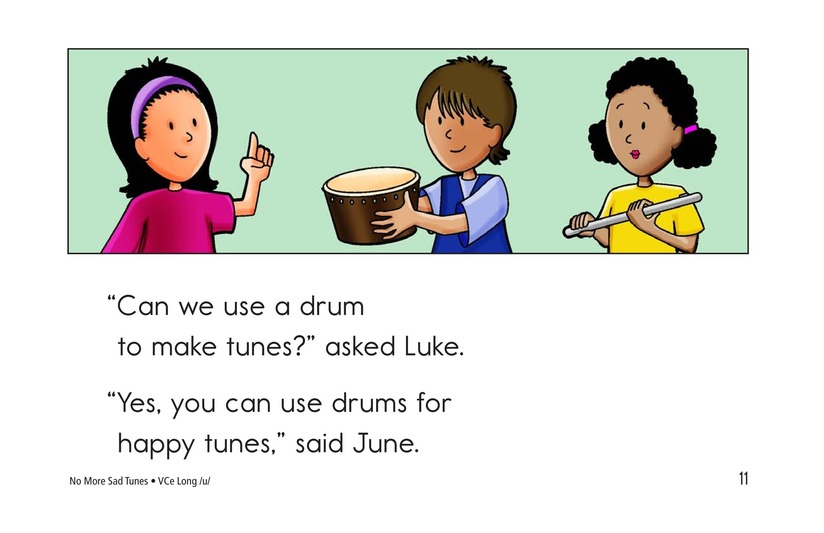 Book Preview For No More Sad Tunes Page 11