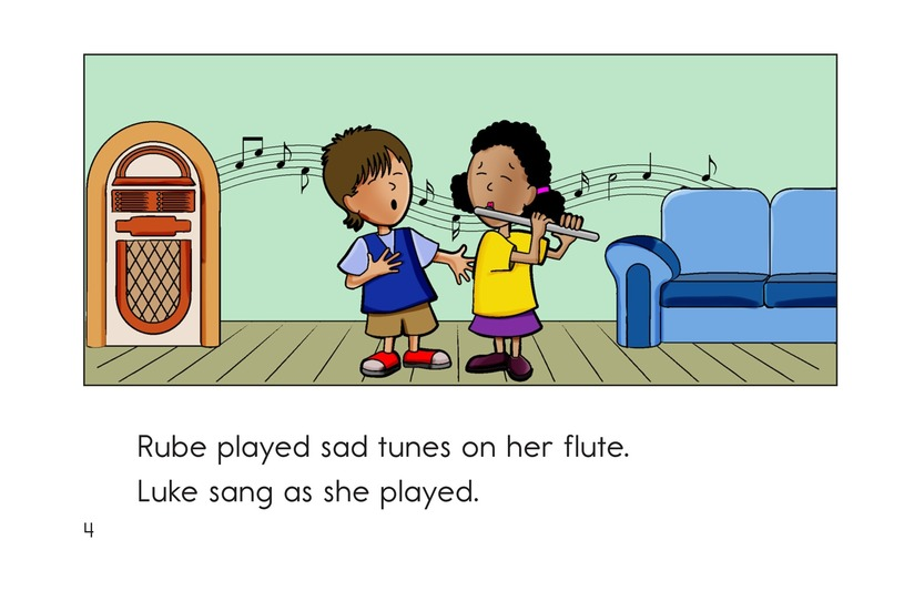 Book Preview For No More Sad Tunes Page 4