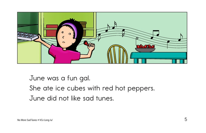 Book Preview For No More Sad Tunes Page 5
