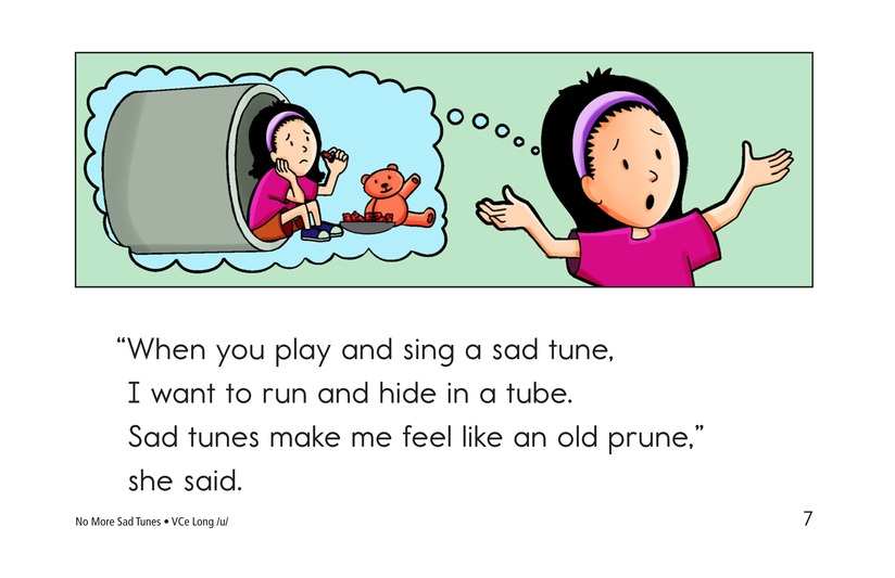 Book Preview For No More Sad Tunes Page 7