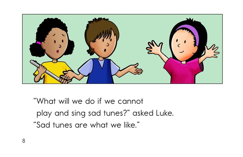 Book Preview For No More Sad Tunes Page 8