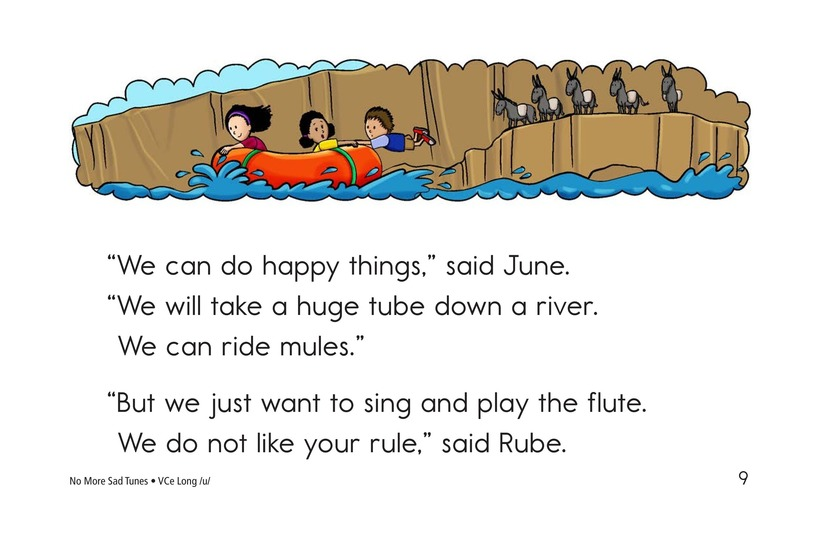 Book Preview For No More Sad Tunes Page 9
