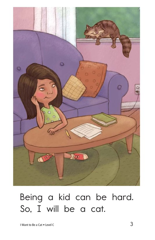Book Preview For I Want to Be a Cat Page 3