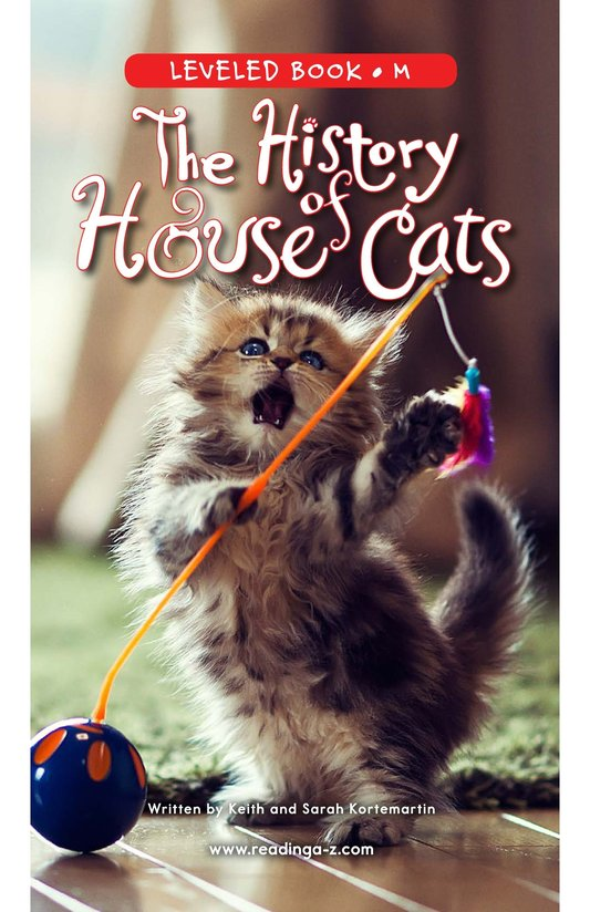 Book Preview For The History of House Cats Page 0