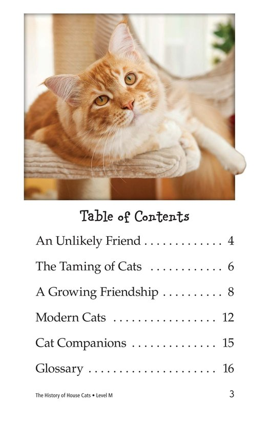 Book Preview For The History of House Cats Page 3