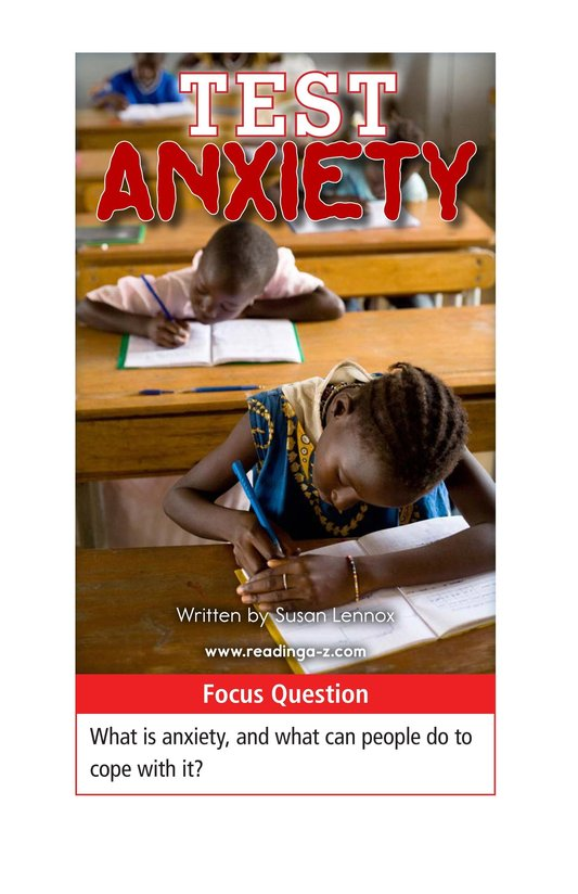 Book Preview For Test Anxiety Page 1