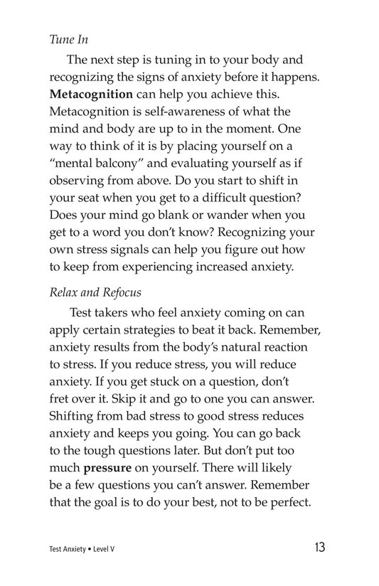 Book Preview For Test Anxiety Page 13