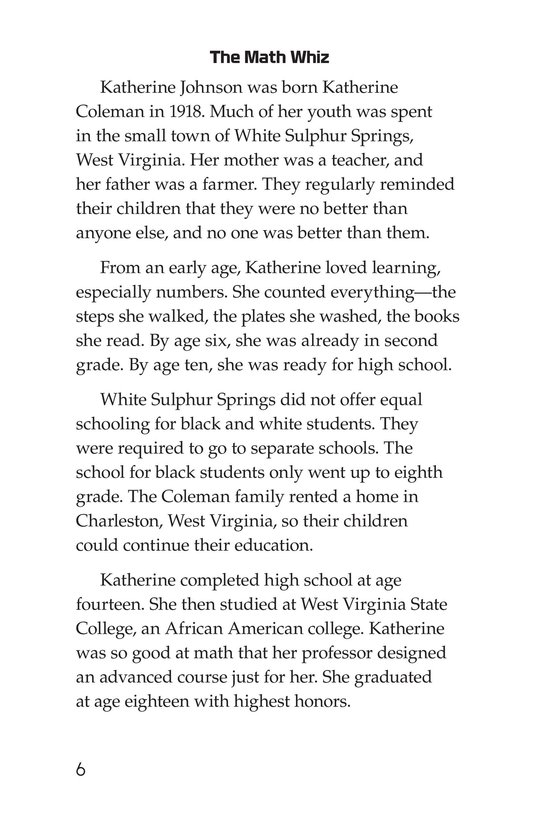 Book Preview For Katherine Johnson Page 6