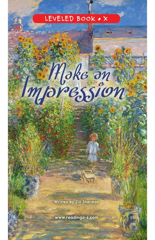 Book Preview For Make an Impression Page 0