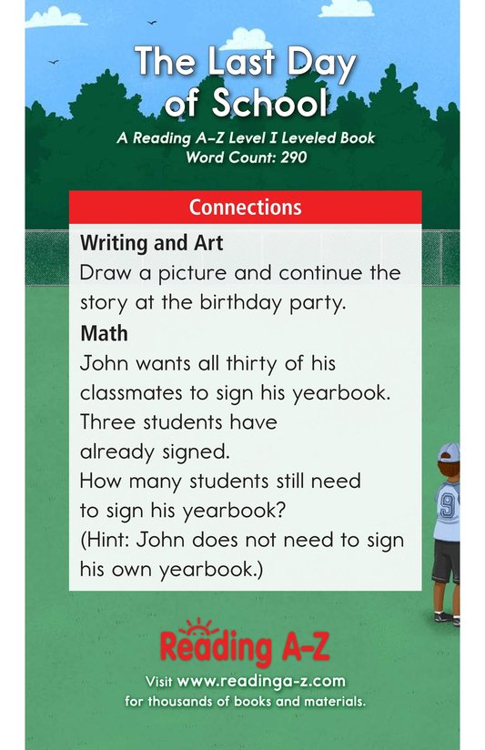 Book Preview For The Last Day of School Page 17
