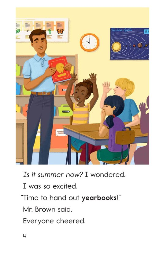 Book Preview For The Last Day of School Page 4