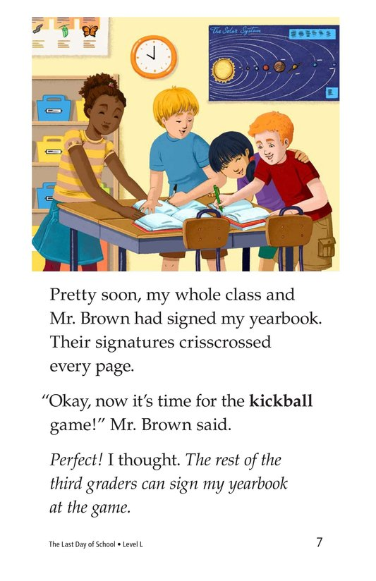 Book Preview For The Last Day of School Page 7
