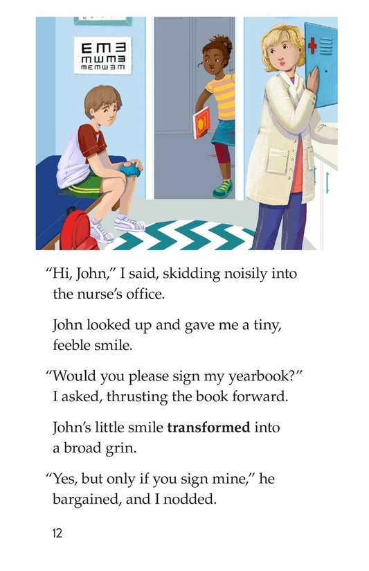 Book Preview For The Last Day of School Page 12