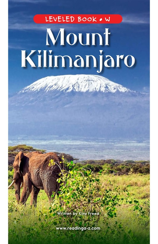 Book Preview For Mount Kilimanjaro Page 0