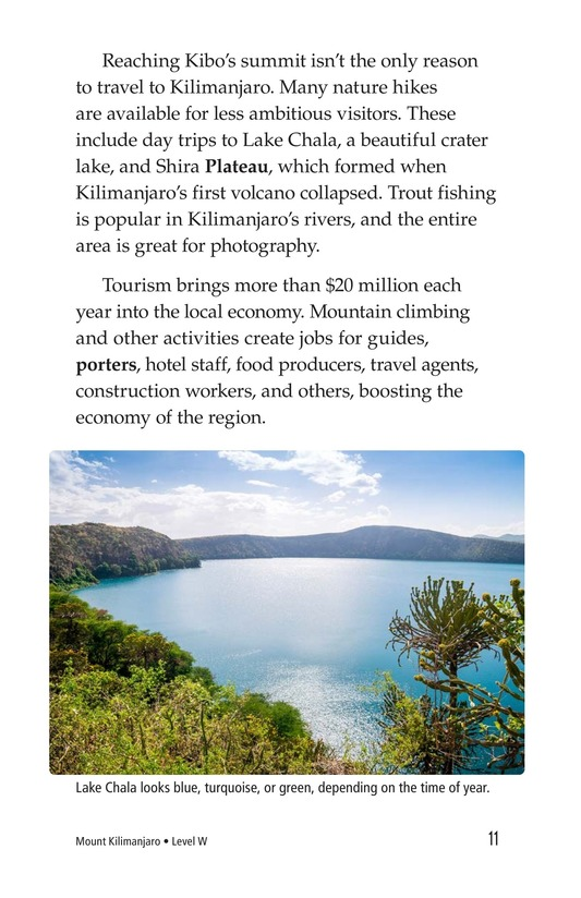 Book Preview For Mount Kilimanjaro Page 11