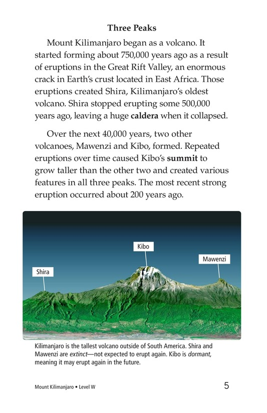 Book Preview For Mount Kilimanjaro Page 5