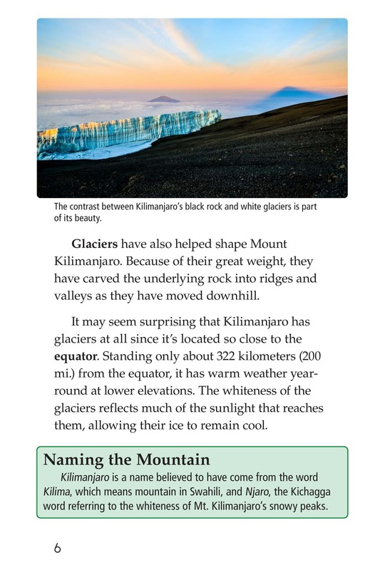 Book Preview For Mount Kilimanjaro Page 6