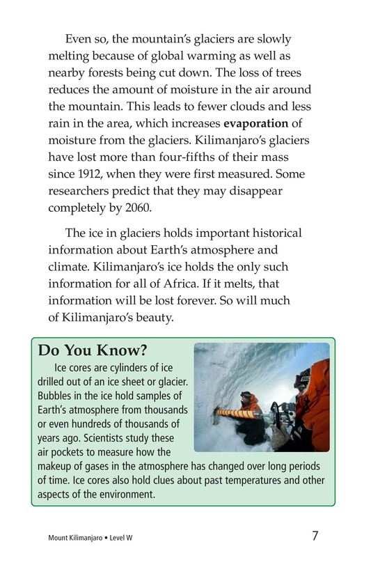 Book Preview For Mount Kilimanjaro Page 7