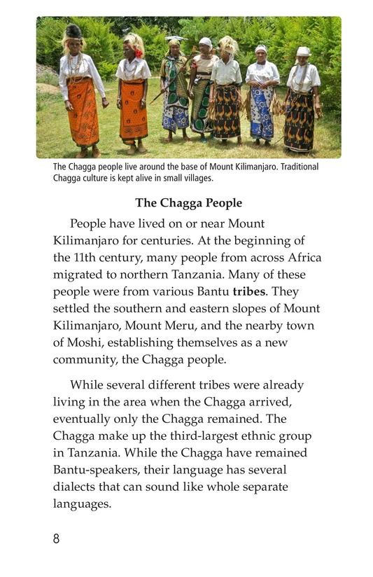 Book Preview For Mount Kilimanjaro Page 8