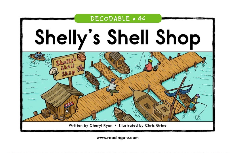 Book Preview For Shelly's Shell Shop Page 1