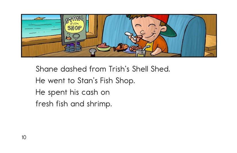 Book Preview For Shelly's Shell Shop Page 10