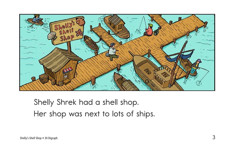 Book Preview For Shelly's Shell Shop Page 3