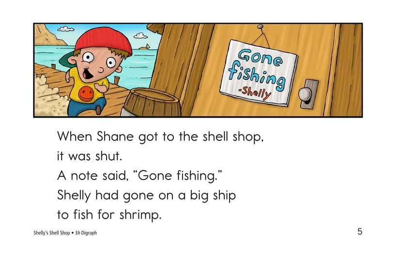 Book Preview For Shelly's Shell Shop Page 5