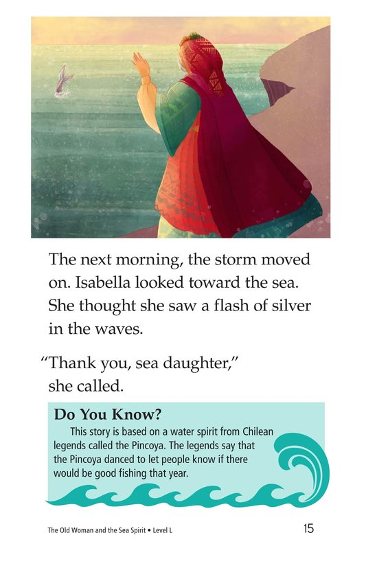 Book Preview For The Old Woman and the Sea Spirit Page 15